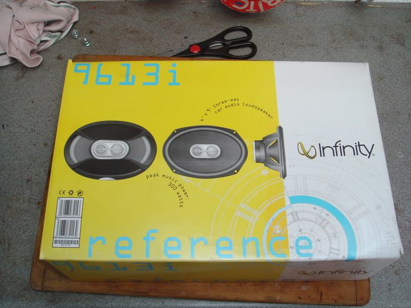 infinty 6x9 speakers Various119