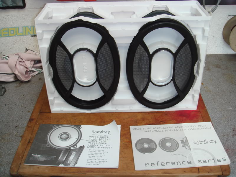 infinty 6x9 speakers Various120