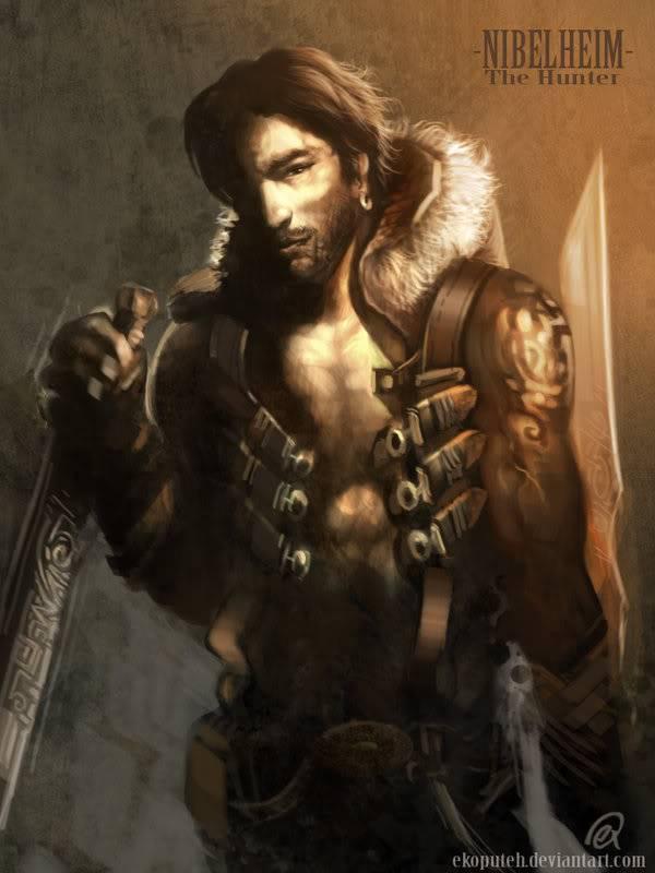 NPC Characters THE_HUNTER_concept_by_ekoputeh