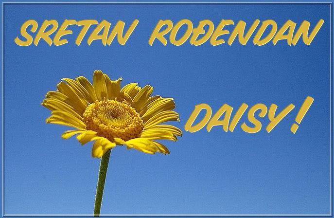Srecan rodjendan mama daisy Daisy