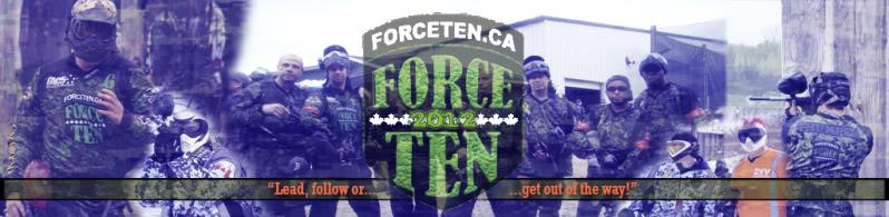 Force Ten Paintball Team :: Community Forum