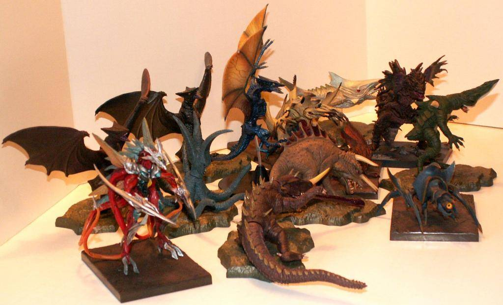 Gamera Konami Sets! MonsterVillains
