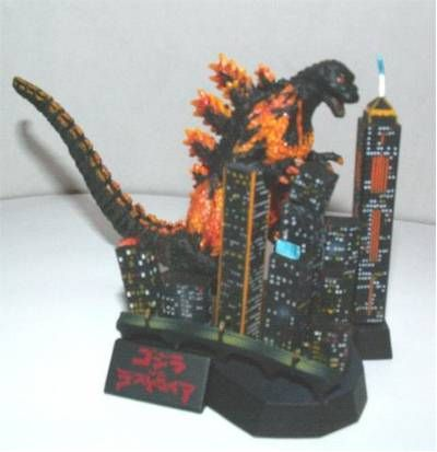 Godzilla COMPLETE WORKS Sets! Review_godzilla2_7
