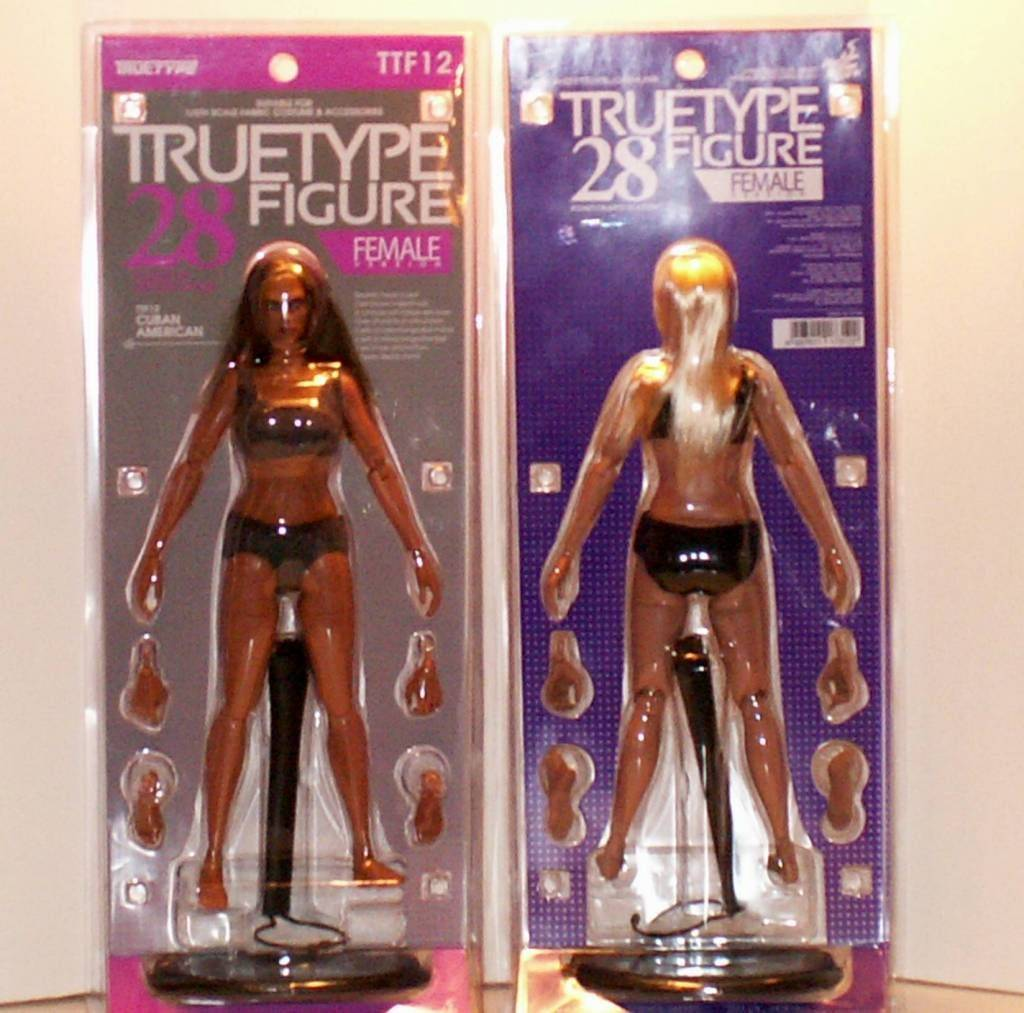 Hot Toys TrueType Females: Caucasian & Cuban-American - Updated 9/4/13! 1