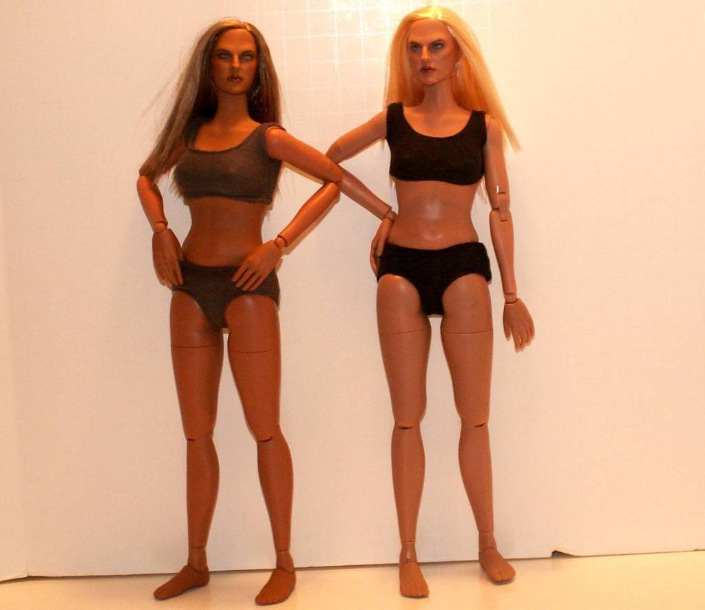 Hot Toys TrueType Females: Caucasian & Cuban-American - Updated 9/4/13! 2