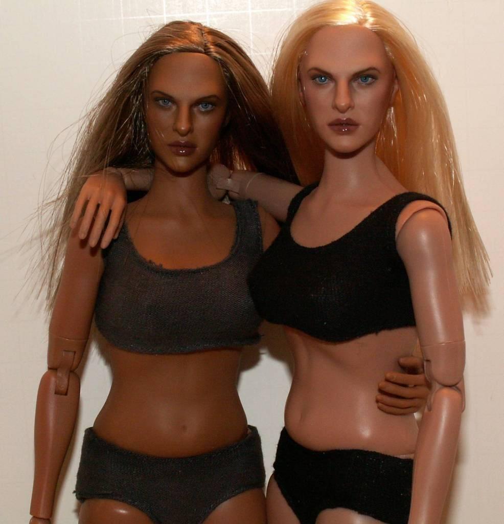 Hot Toys TrueType Females: Caucasian & Cuban-American - Updated 9/4/13! 20