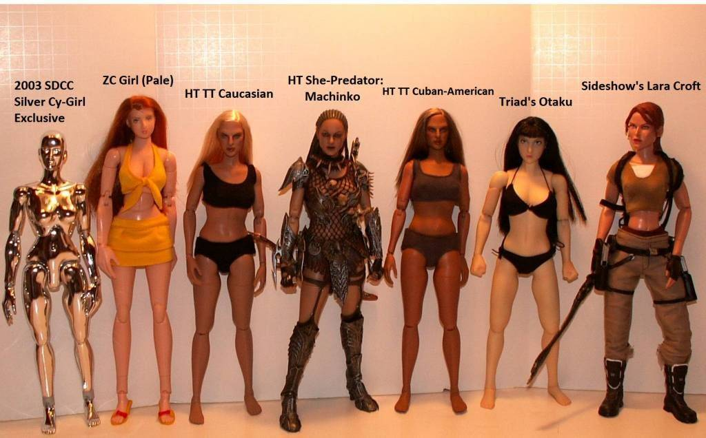 Hot Toys TrueType Females: Caucasian & Cuban-American - Updated 9/4/13! 21