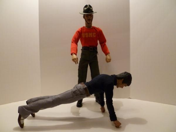 Bruce Lee & R. Lee Ermey: A Special Moment! 26-1