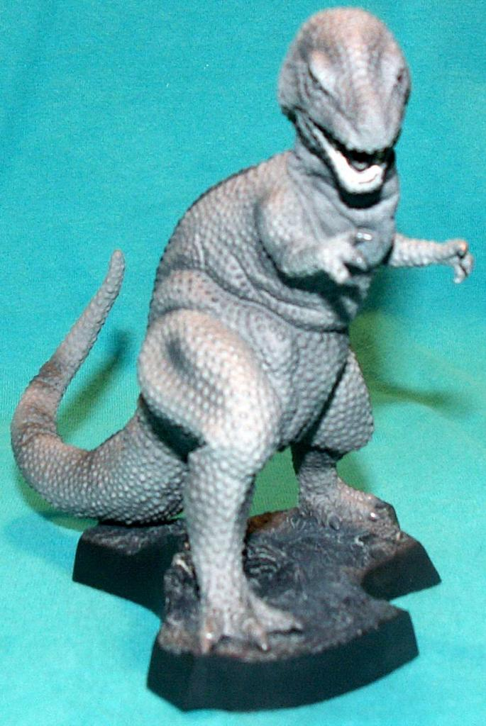 King Kong figures by Konami & X-Plus! Tyrannosaurusrex