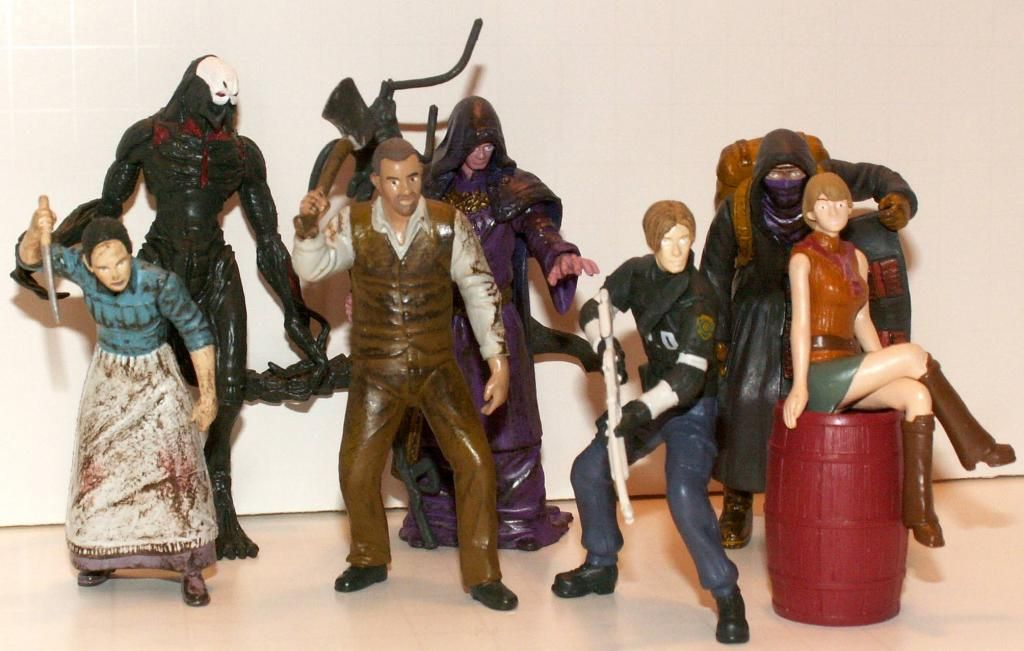 Resident Evil 4 & 5 Figures by Agatsuma & NECA!!!!!!! RE-4Series2Group