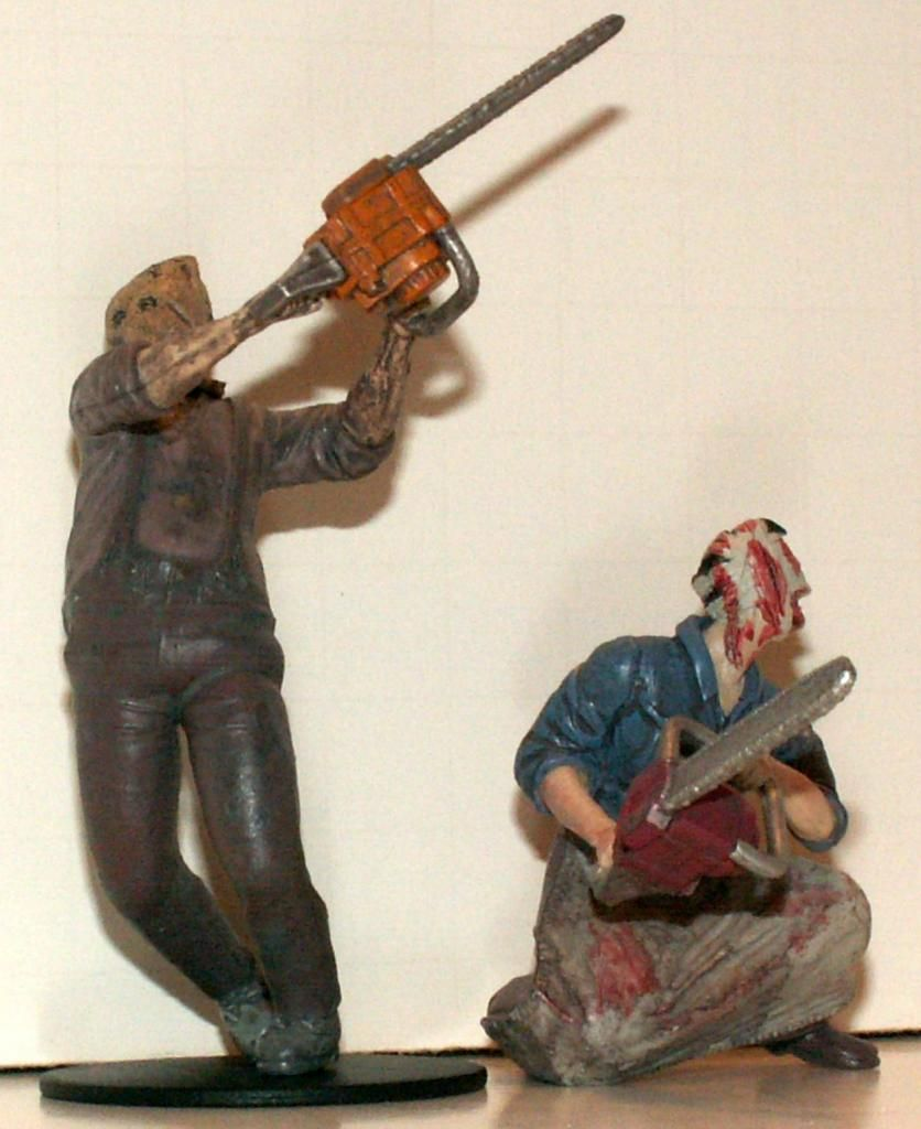 Resident Evil 4 & 5 Figures by Agatsuma & NECA!!!!!!! TheChainsawGanados