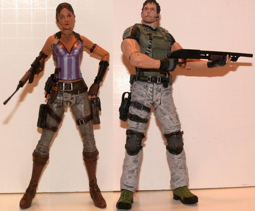 Resident Evil 4 & 5 Figures by Agatsuma & NECA!!!!!!! ChrisampSheva1