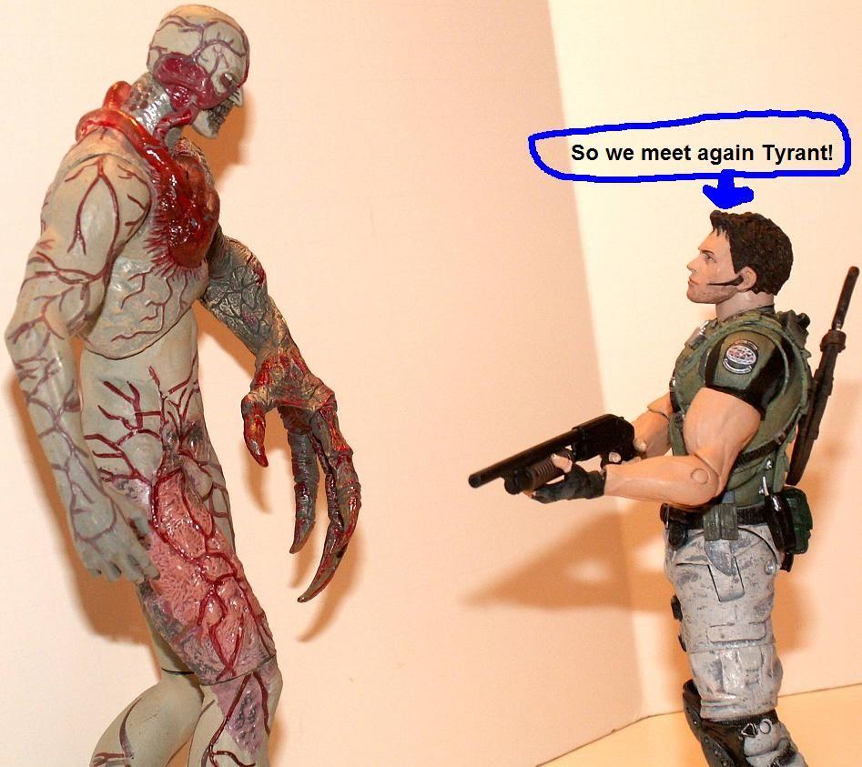 Resident Evil 4 & 5 Figures by Agatsuma & NECA!!!!!!! ChrisvstheTyrant