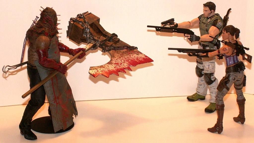 Resident Evil 4 & 5 Figures by Agatsuma & NECA!!!!!!! RE5Fight