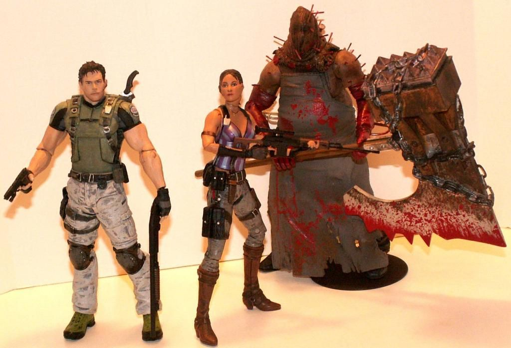 Resident Evil 4 & 5 Figures by Agatsuma & NECA!!!!!!! RE5Group