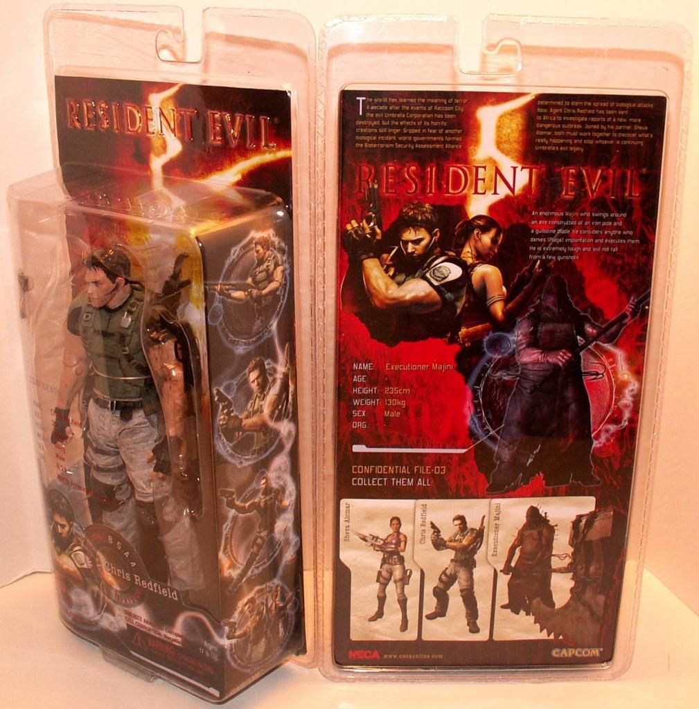 Resident Evil 4 & 5 Figures by Agatsuma & NECA!!!!!!! RE5Packaging