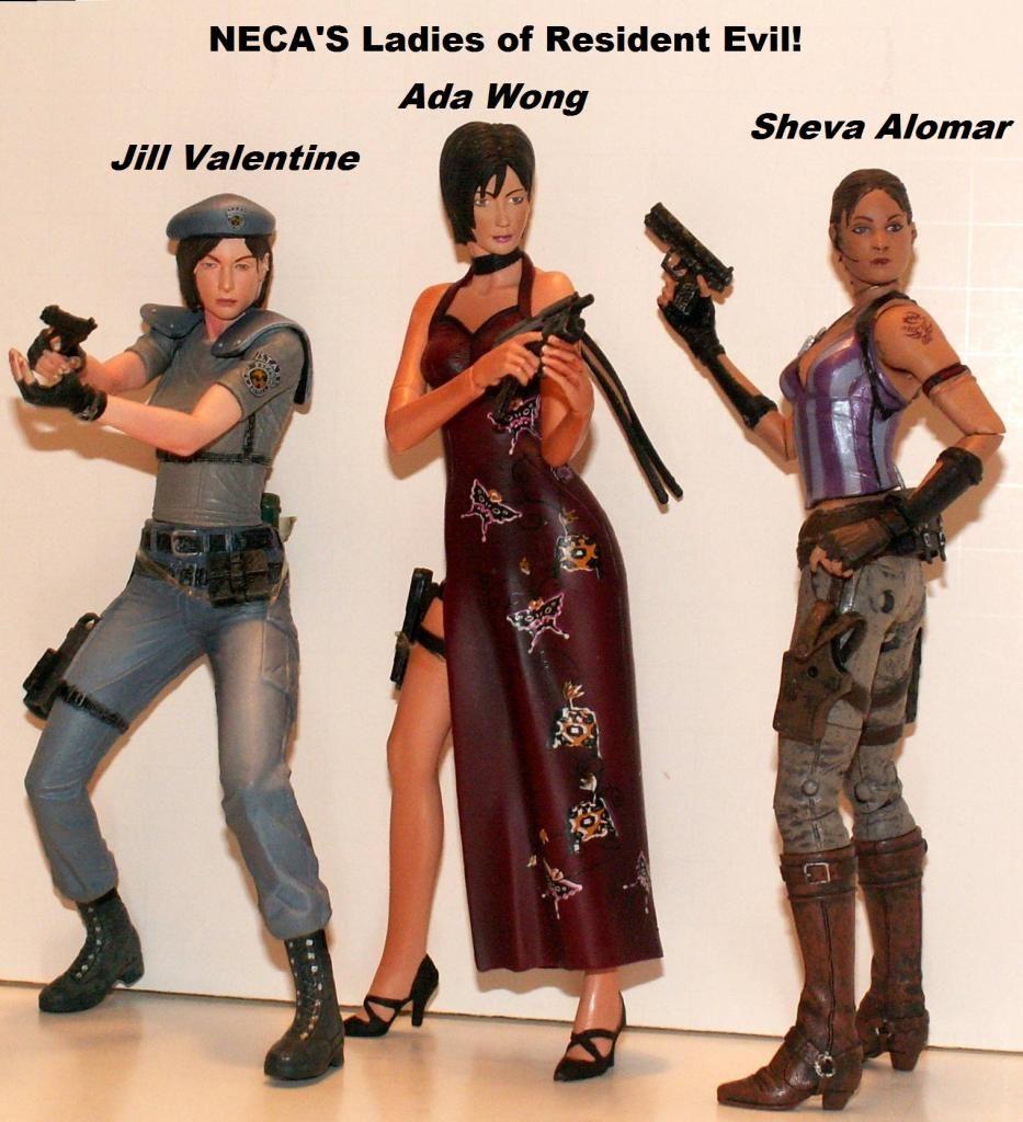 Resident Evil 4 & 5 Figures by Agatsuma & NECA!!!!!!! REWomen