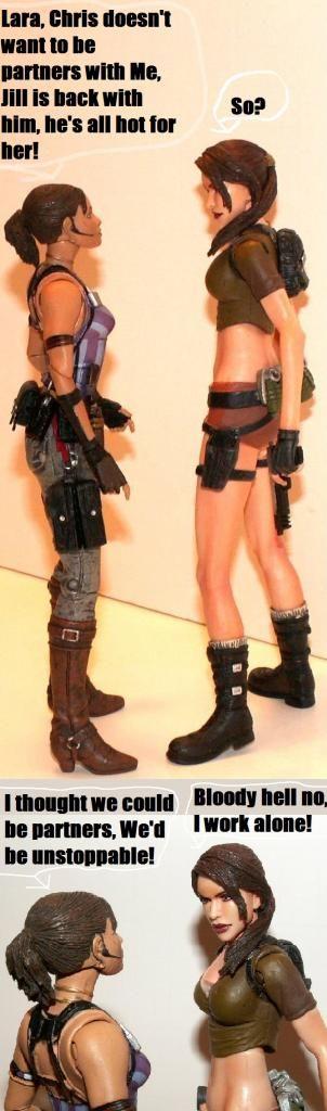 Resident Evil 4 & 5 Figures by Agatsuma & NECA!!!!!!! ShevaampLara