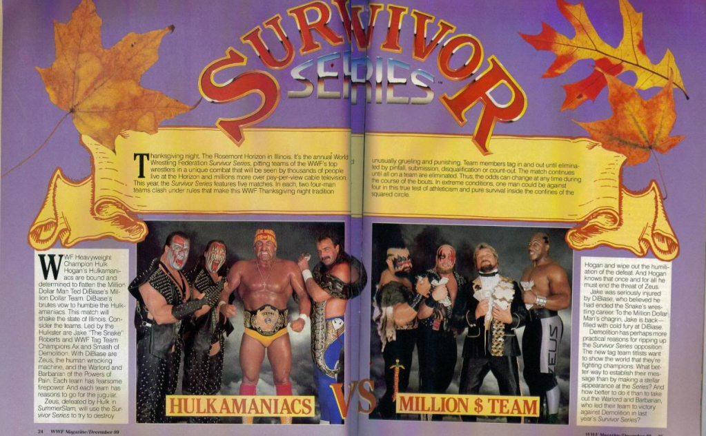 Pro Wrestling Topics: UK gets WWE Network October 1st!!!!!!!! SurvivorSeries89