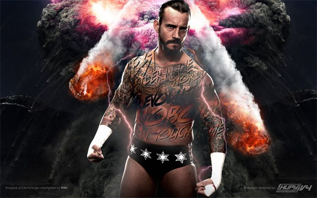 Pro Wrestling Topics: UK gets WWE Network October 1st!!!!!!!! Cm-punk-revolution-wallpaper-preview