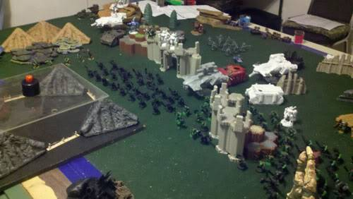 June 25th, 3vs3 game. 1500 pts for each Army!!! Round2sideB