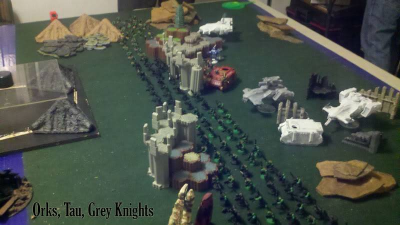 June 25th, 3vs3 game. 1500 pts for each Army!!! Side-B