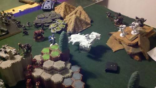 June 25th, 3vs3 game. 1500 pts for each Army!!! Closeup02