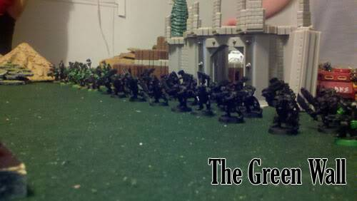 June 25th, 3vs3 game. 1500 pts for each Army!!! Greenwall