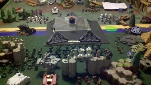 June 25th, 3vs3 game. 1500 pts for each Army!!! Round3