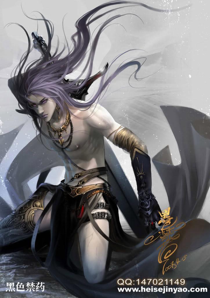 Siolyn Jr'einer Warrior_in_the_dark_by_heise