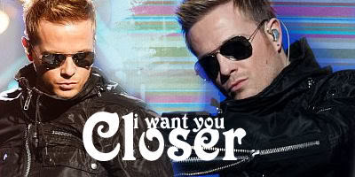 Nicky Byrne and Jenny Green are blindfolded in Dublin Zoo!  IWantYouCloser