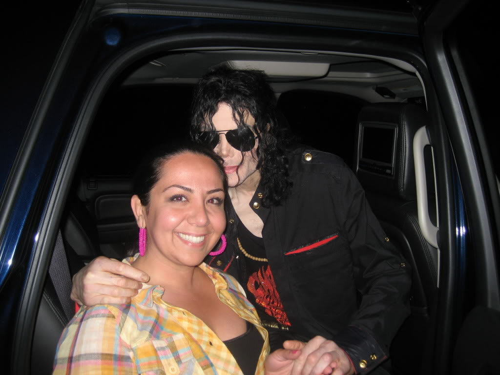 """Fan del grupo de los """"Followers"""" (seguidores) : """"Siguiendo a Michael"""" May09003-1"""