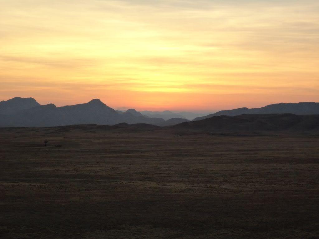 Namibia - Swakopmund to Solitaire and back via Walvis Bay NamibianSunset