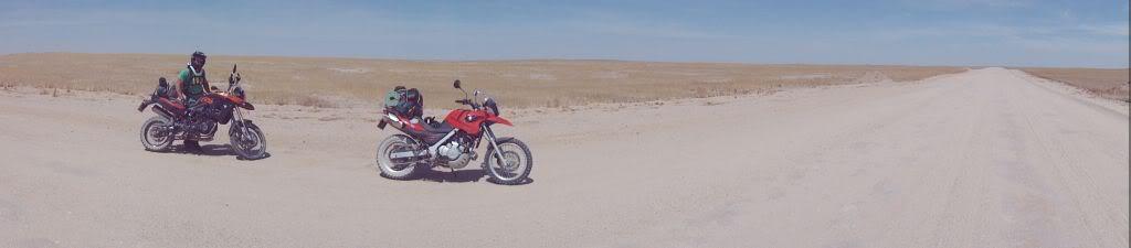 Namibia - Swakopmund to Solitaire and back via Walvis Bay Panorama