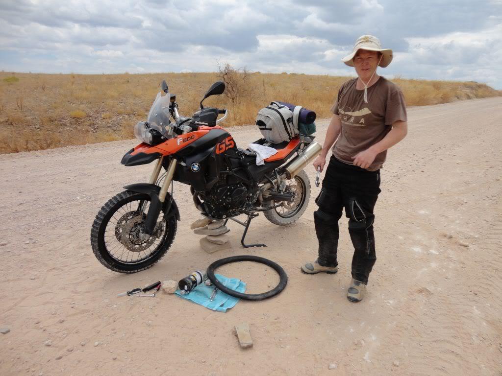 Namibia - Swakopmund to Solitaire and back via Walvis Bay TyreChange