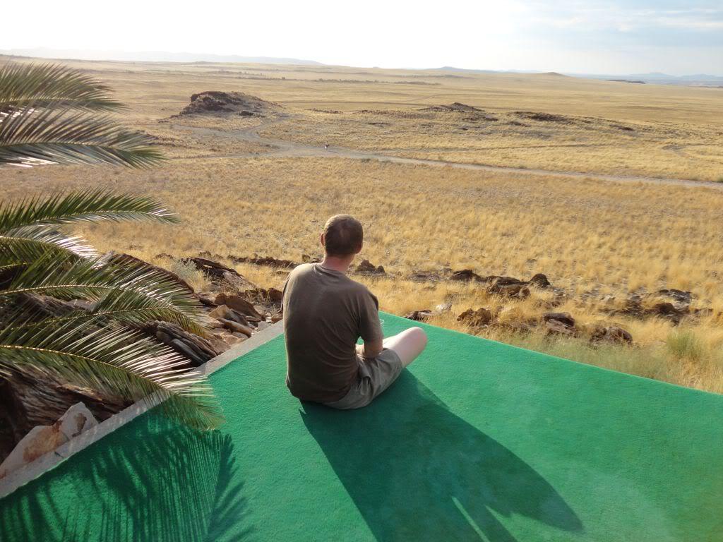 Namibia - Swakopmund to Solitaire and back via Walvis Bay Viewswimmingpool1