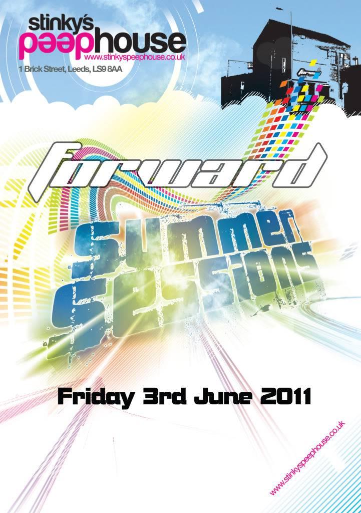 Forward:Leeds - Summer Sessions, Friday 3 June FlyerFront