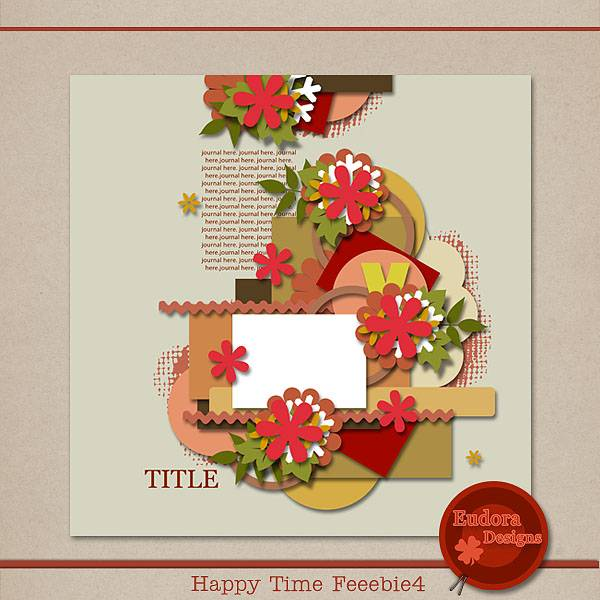 Happy Time Freebie4. HTF4