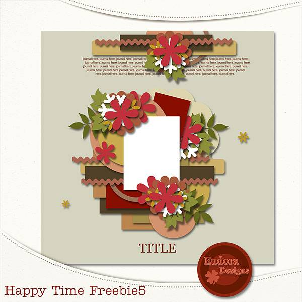 Happy Time freebie5!! HTF5