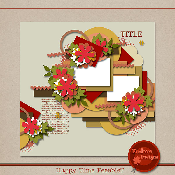Happy Time freebie7!! HTF7