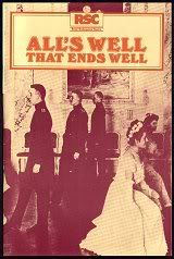 ALL'S WELL THAT ENDS WELL 1981- Shakespeare movie {exclusive 81allswell