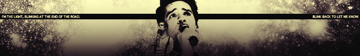 Let the sun rain down on me. OMGANOTHERBANNER3