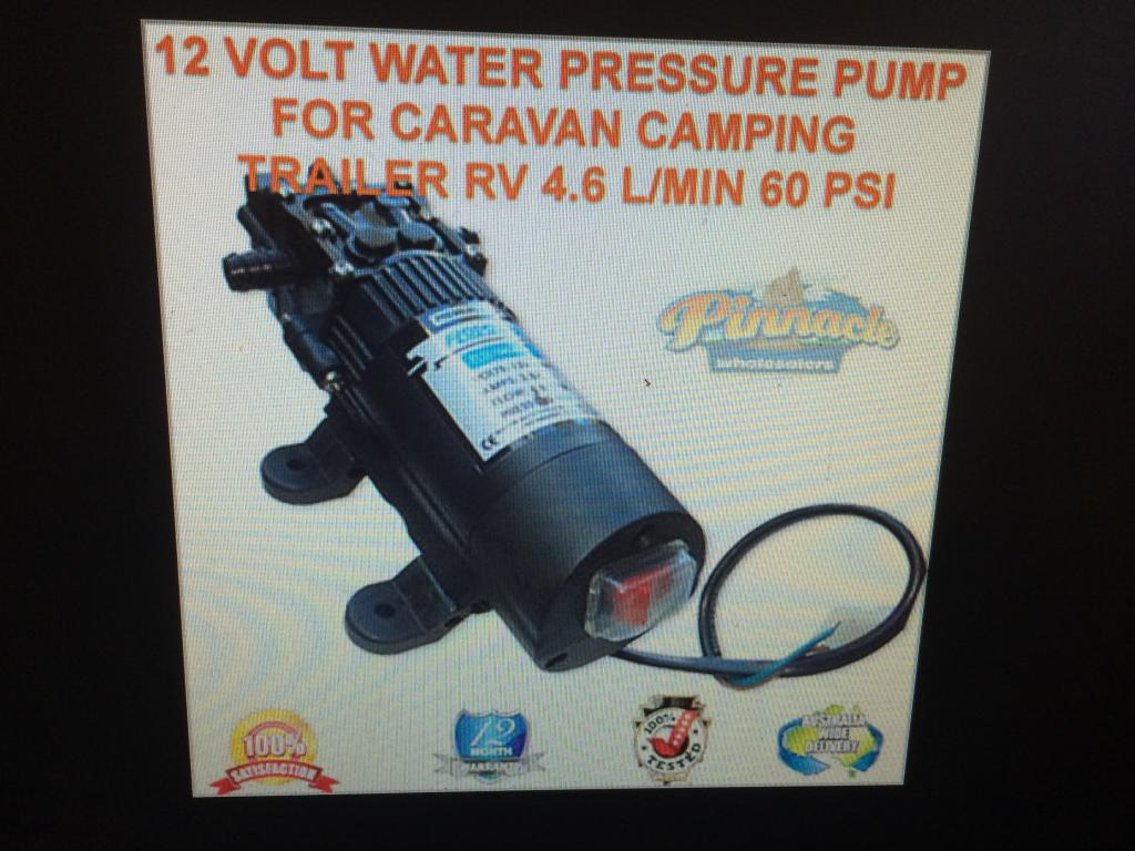 12v water pump. 007-4