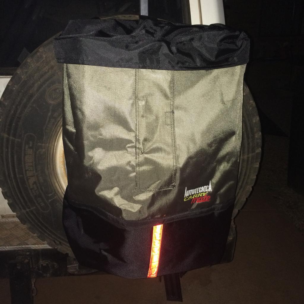 spare wheel rubbish bag  016-4