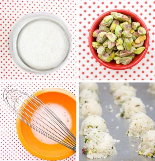 Pistachio macaroons – bánh hạnh nhân hồ trăn 2-59