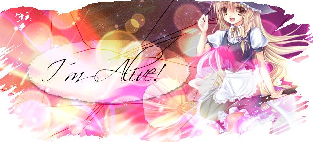 I´m alive! Banner2-2