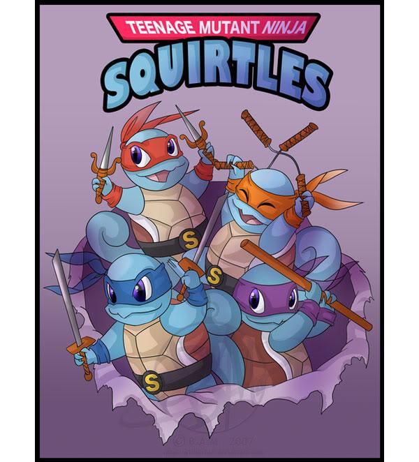 Imágenes Graciosas  Teenage-mutant-ninja-squirtles