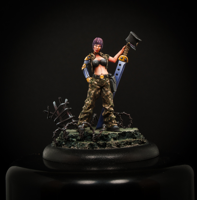 """Premier post sur le forum: photos de figurines """"studio"""" Commissaire1_zpsf149fe73"""