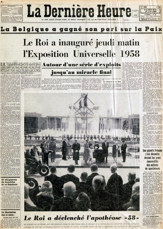 Exposition universelle de 1958 Bruxelles Expo58Une_zps0c13c7a0