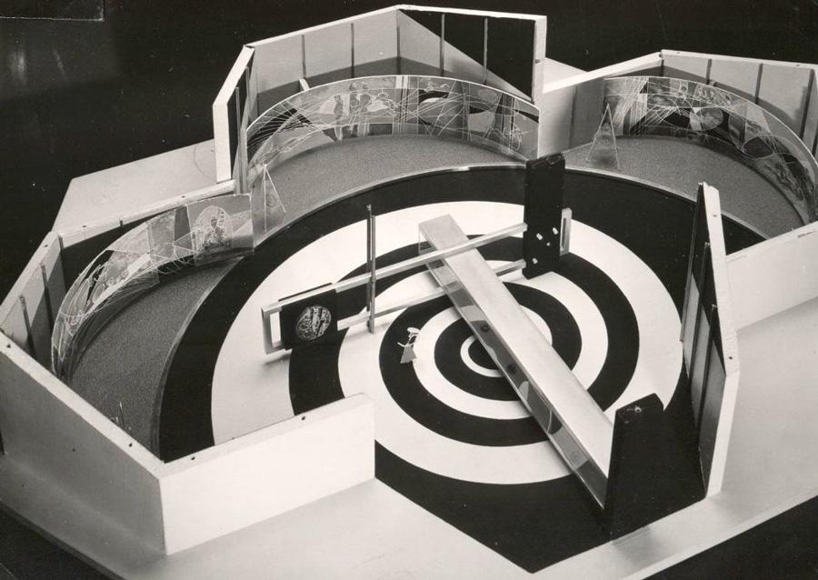 Exposition universelle de 1958 Bruxelles Expo58_maquette_zps083d31e3